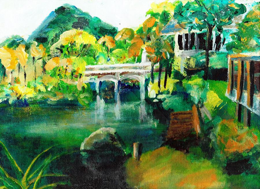 Lake Malibu Painting