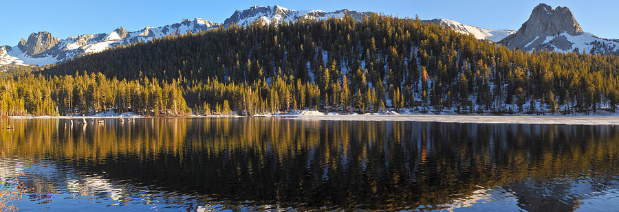 Lake Mary Panorama Photograph  - Lake Mary Panorama Fine Art Print