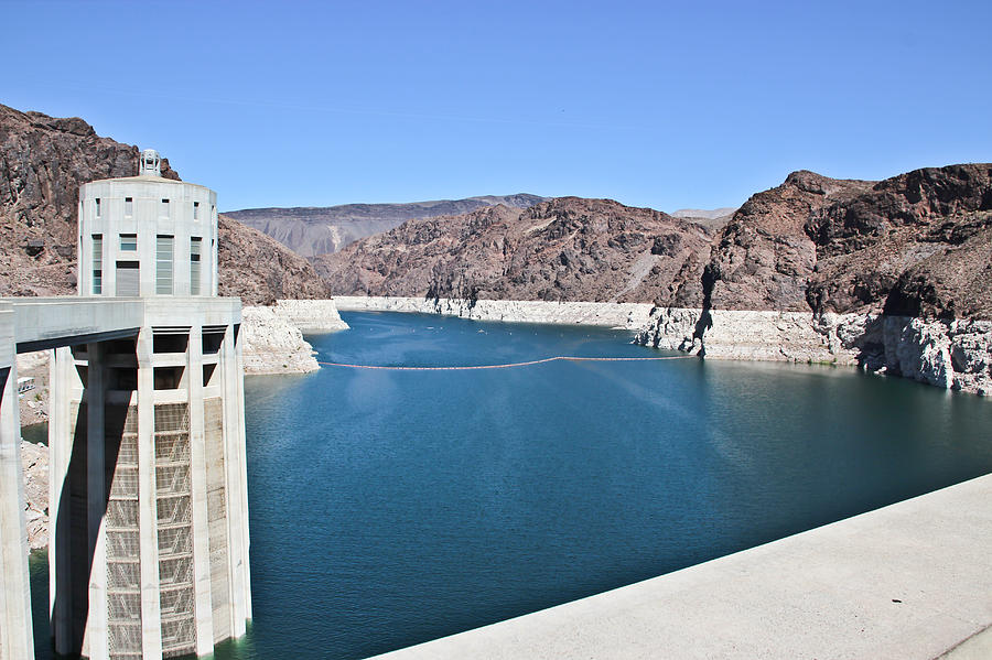 Lake Mead At Hoover Dam Photograph  - Lake Mead At Hoover Dam Fine Art Print