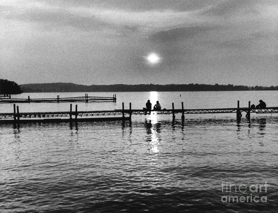 Lake Mendota In Madison Photograph  - Lake Mendota In Madison Fine Art Print