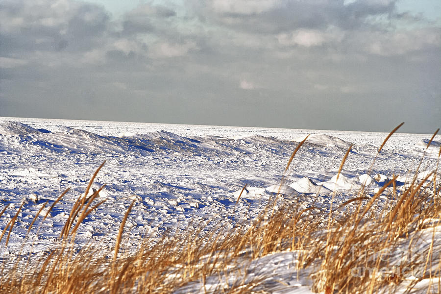 Lake Michigan Photograph - Lake Michigan On Ice by Christopher Purcell