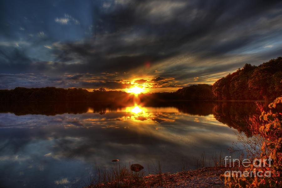 Lake Of The Woods Sunset I Photograph