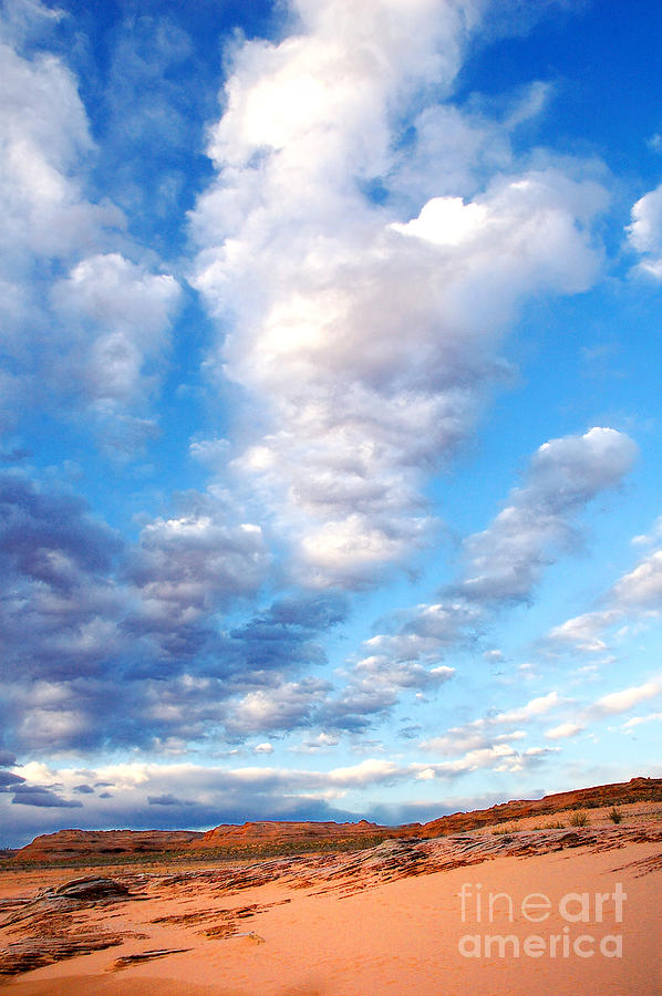 Lake Powell Photograph - Lake Powell Clouds by Thomas R Fletcher