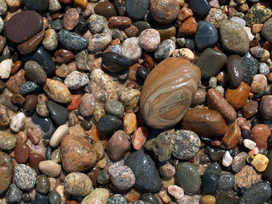 Lake Superior Stones Photograph