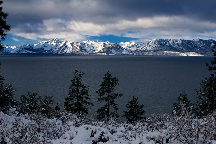 Lake Tahoe Storm Photograph