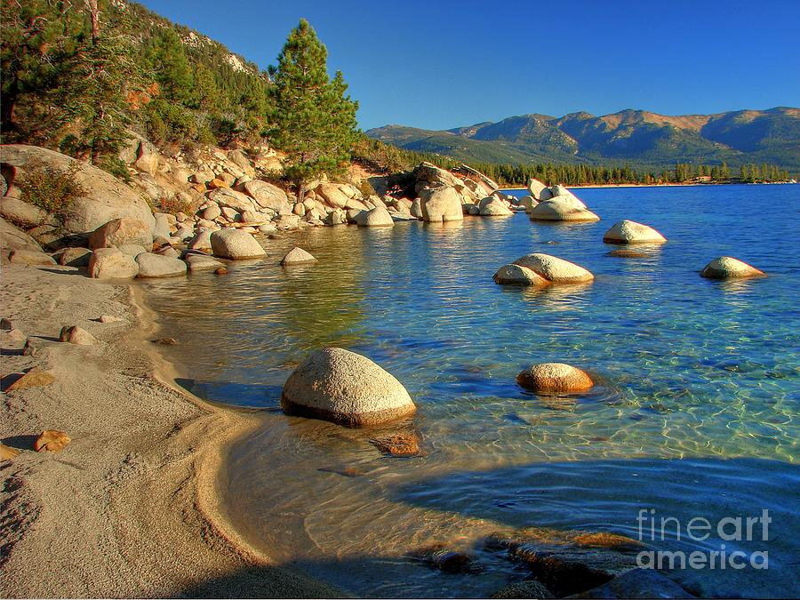 Lake Tahoe Tranquility Photograph