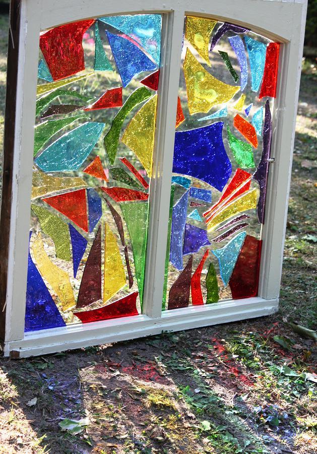 Lake Window Glass Art