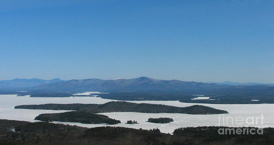 Lake Winnipesaukee View From Mt. Major Photograph
