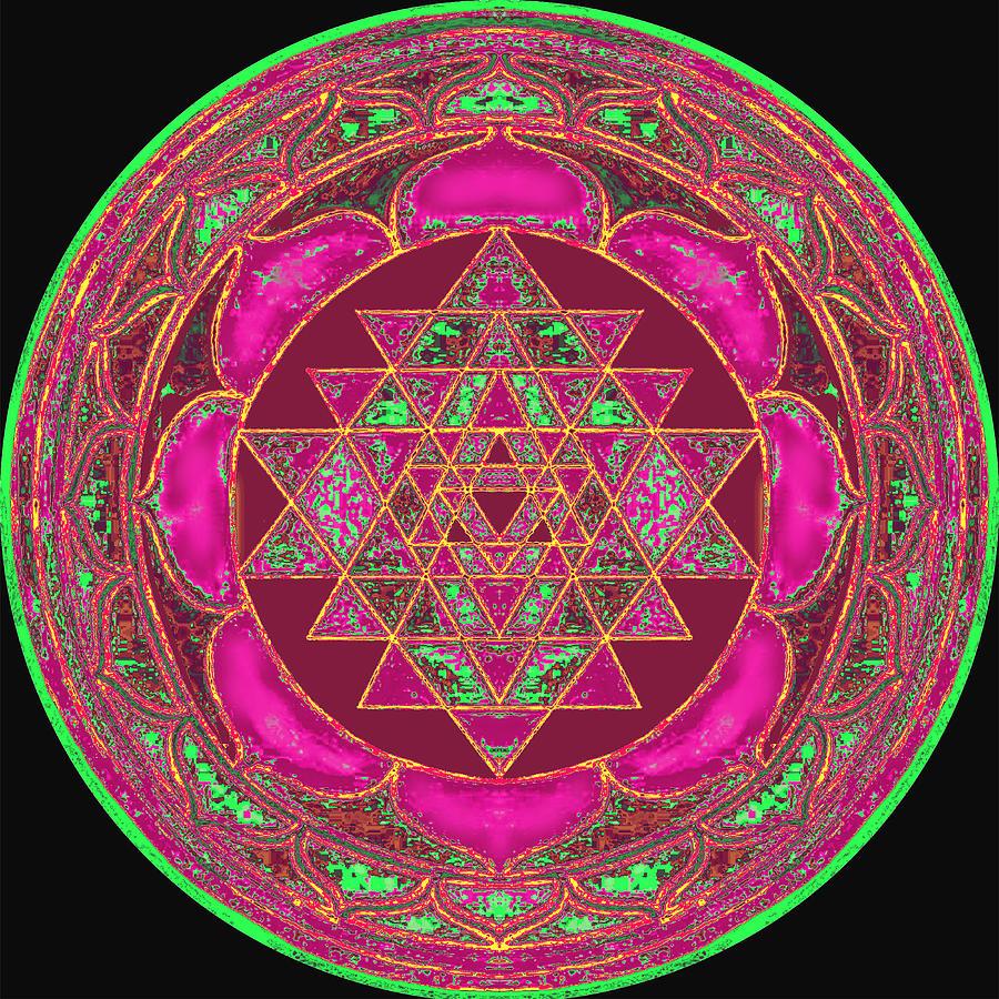 Lakshmi Yantra Mandala Painting