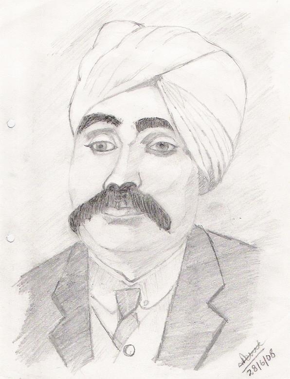 Lala Lajpat Rai Drawing