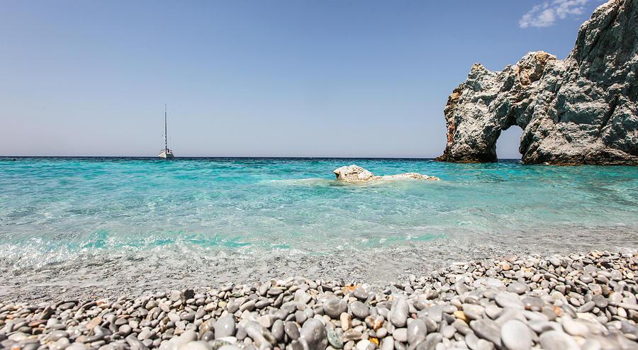 Lalaria Beach Skiathos Island Photograph