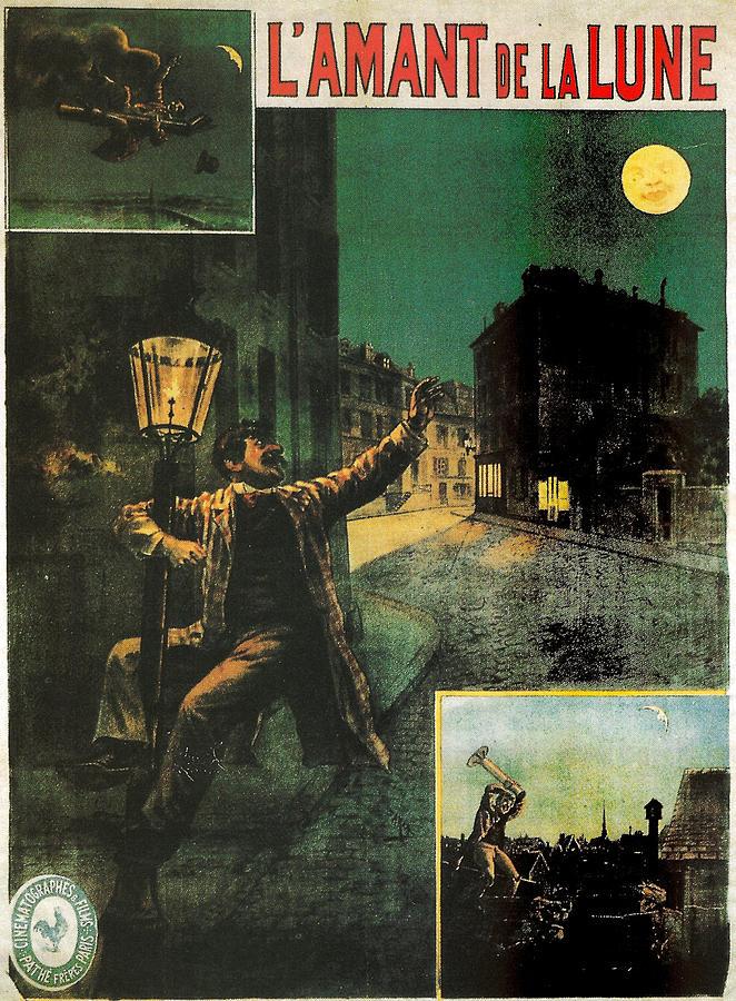 Lamant De La Lune Painting