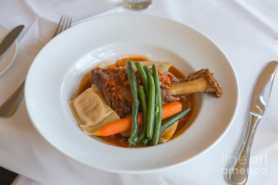 Lamb Shank Photograph