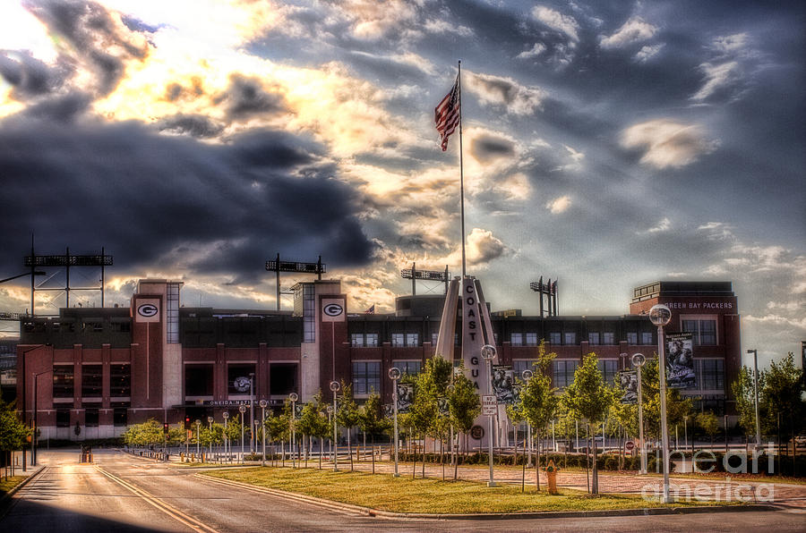 Lambeau Field Awakes Photograph