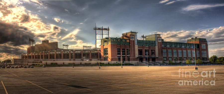 Lambeau Field Photograph  - Lambeau Field Fine Art Print