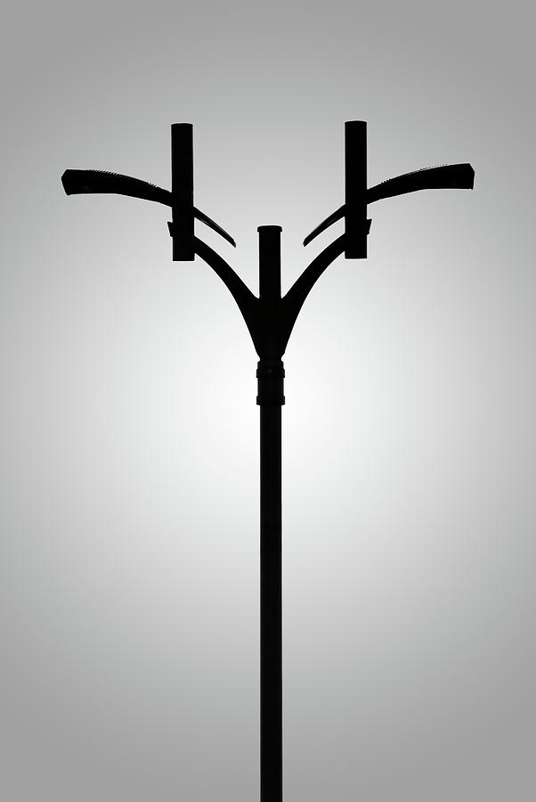lamp post in parking lot by onyonet photo studios. Black Bedroom Furniture Sets. Home Design Ideas