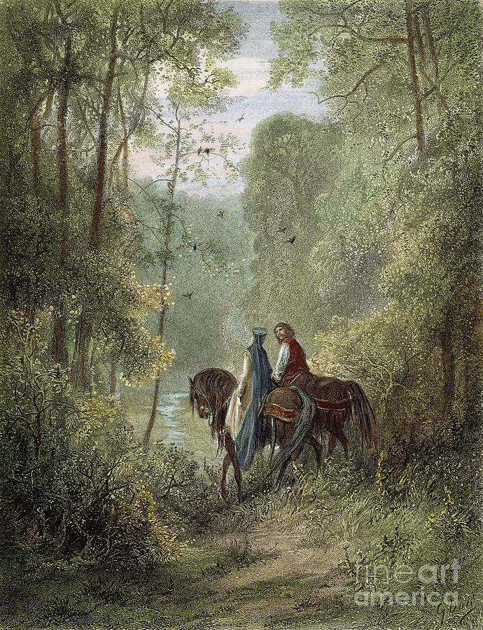 Lancelot & Guinevere Photograph