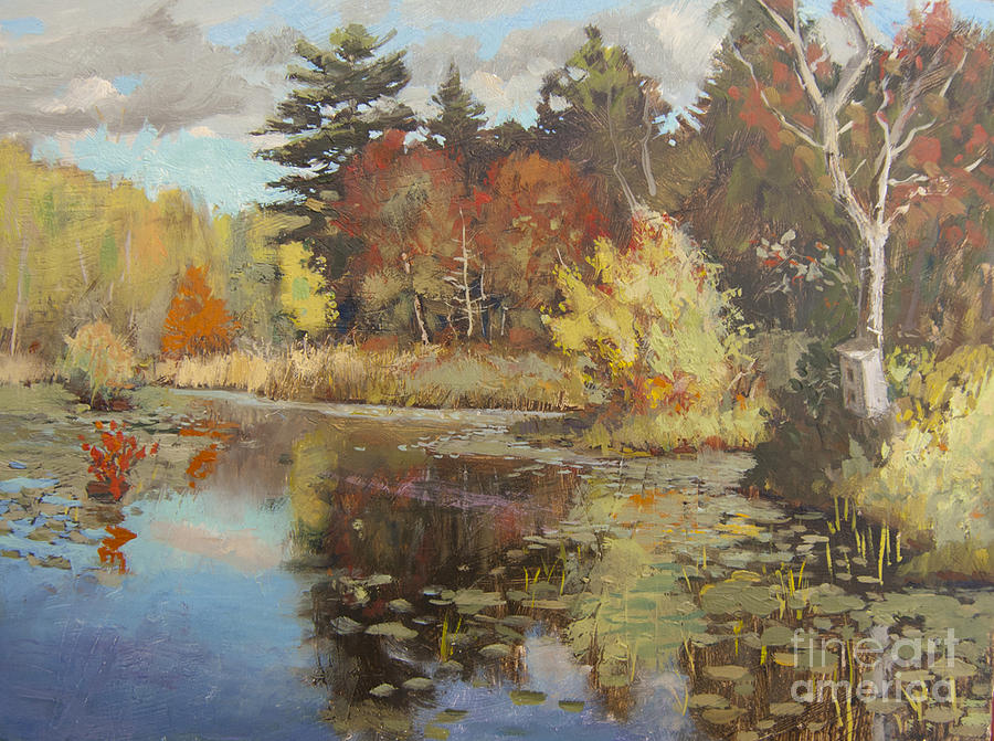 Landscape Painting by Barry Nelson