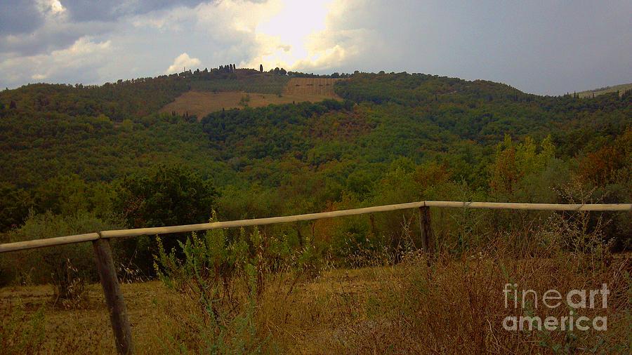 Landscape Greve In Chianti Photograph