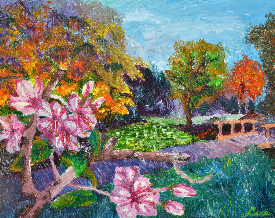 Landscaping painting pictures : Landscape painting nature cures by luxo n p