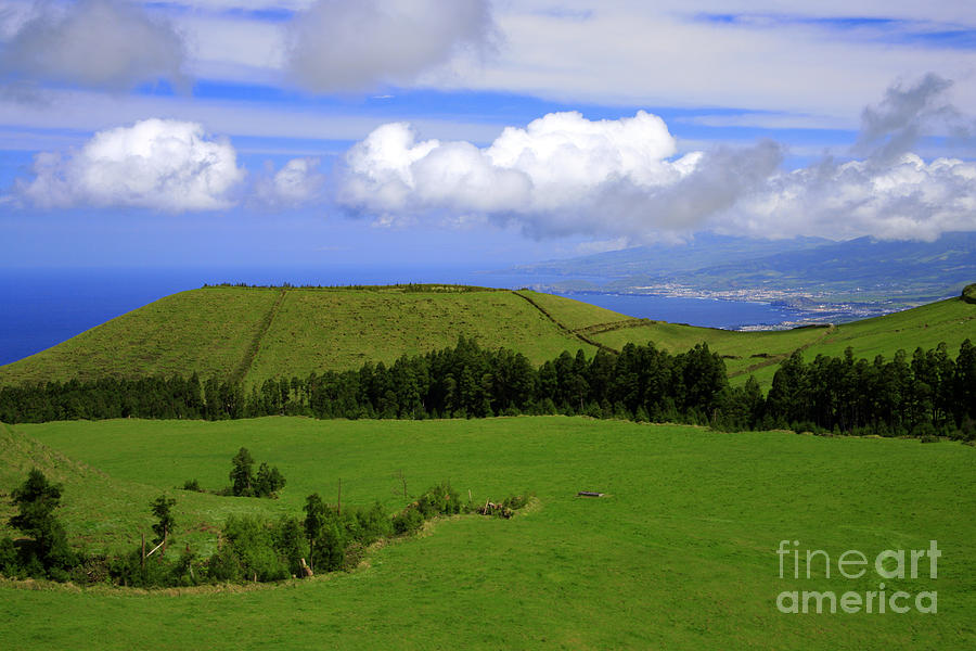 Landscape With Crater Photograph  - Landscape With Crater Fine Art Print