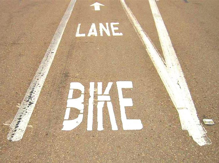 Lane Bike Photograph  - Lane Bike Fine Art Print