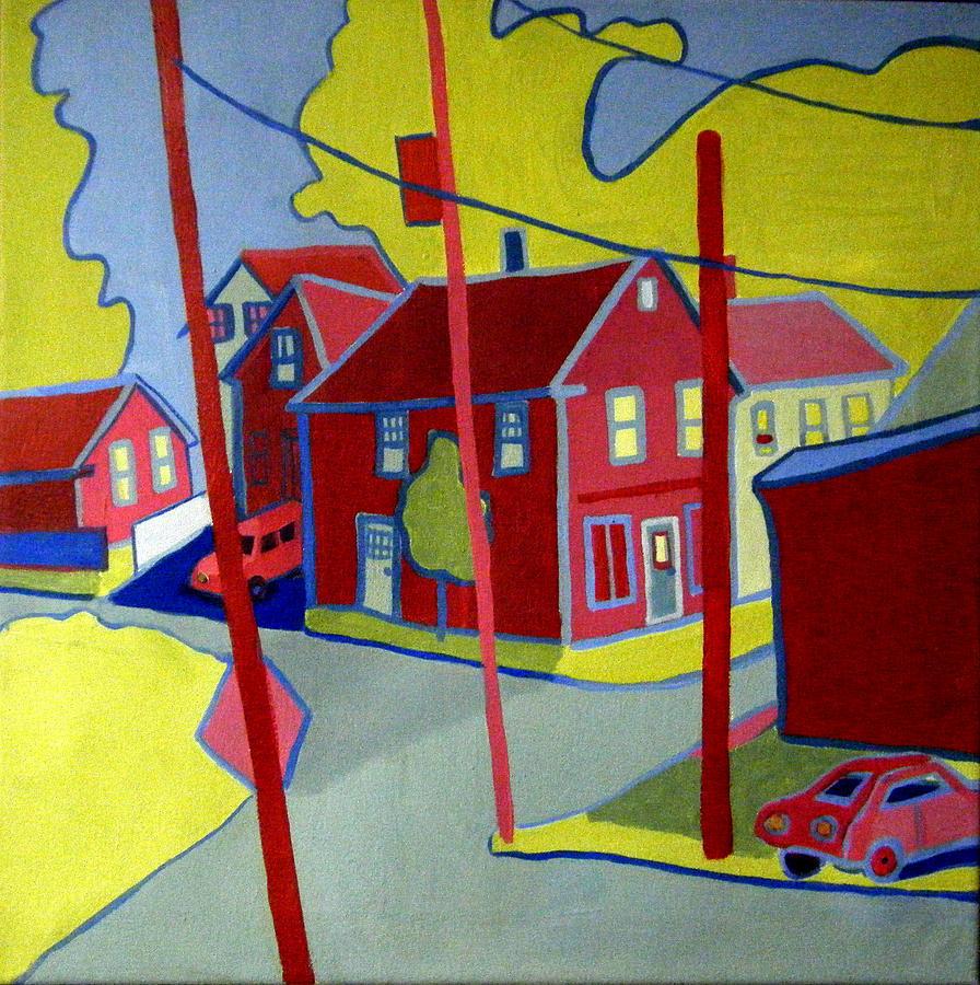 Lanesville Corner Gloucester Ma Painting
