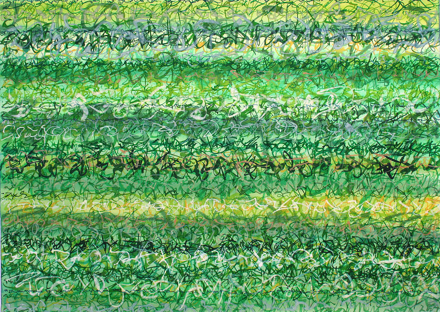 Language Of Grass Painting