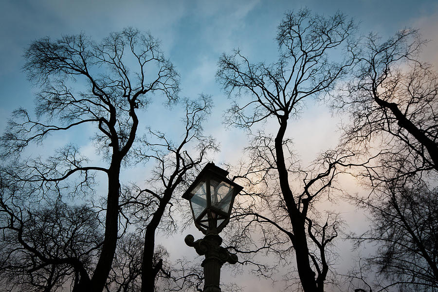 Abstract Photograph - Lantern by Konstantin Dikovsky