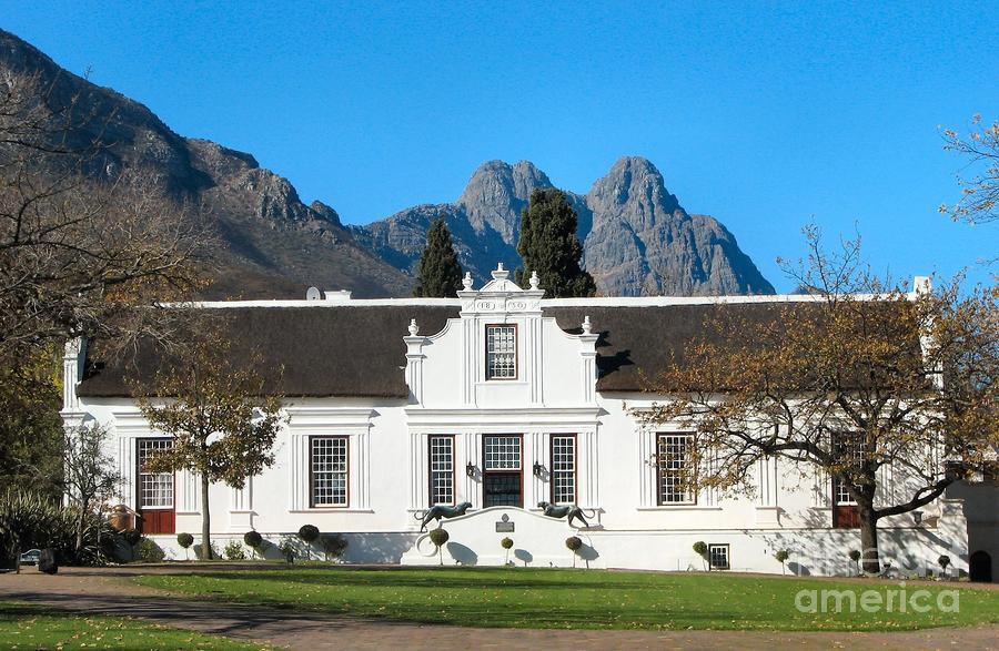 Lanzerac Stellenbosch Photograph