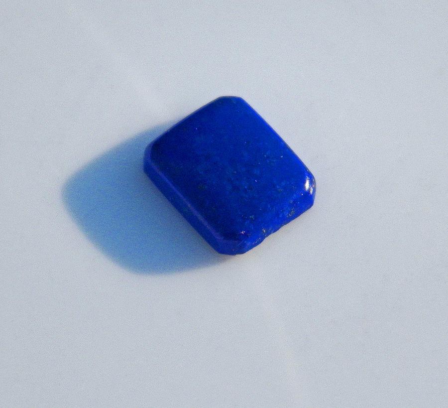 Gems Photograph - Lapis Lazuli by Seth Shotwell