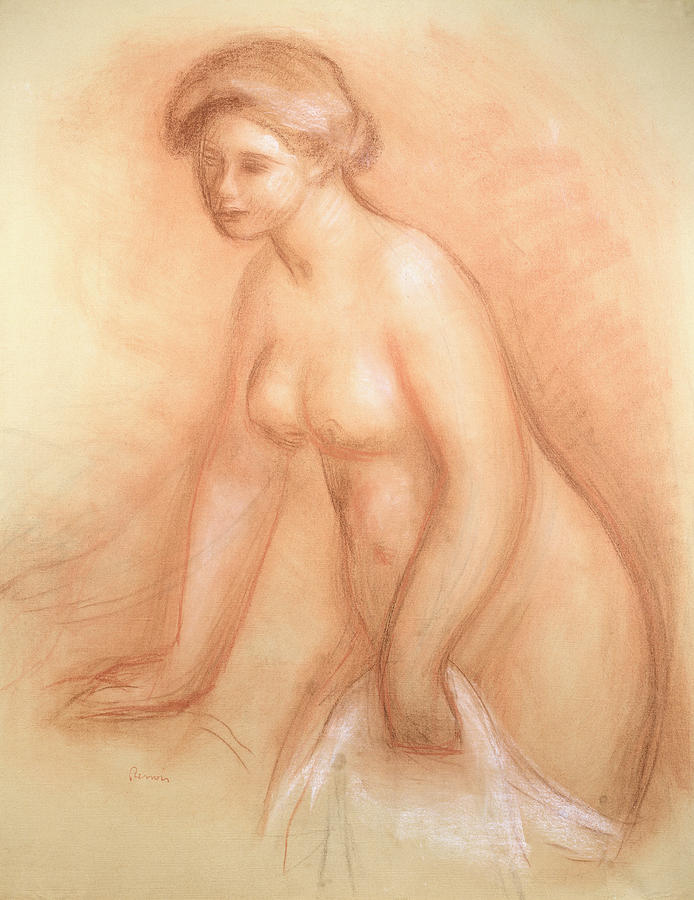 Large Bather Drawing