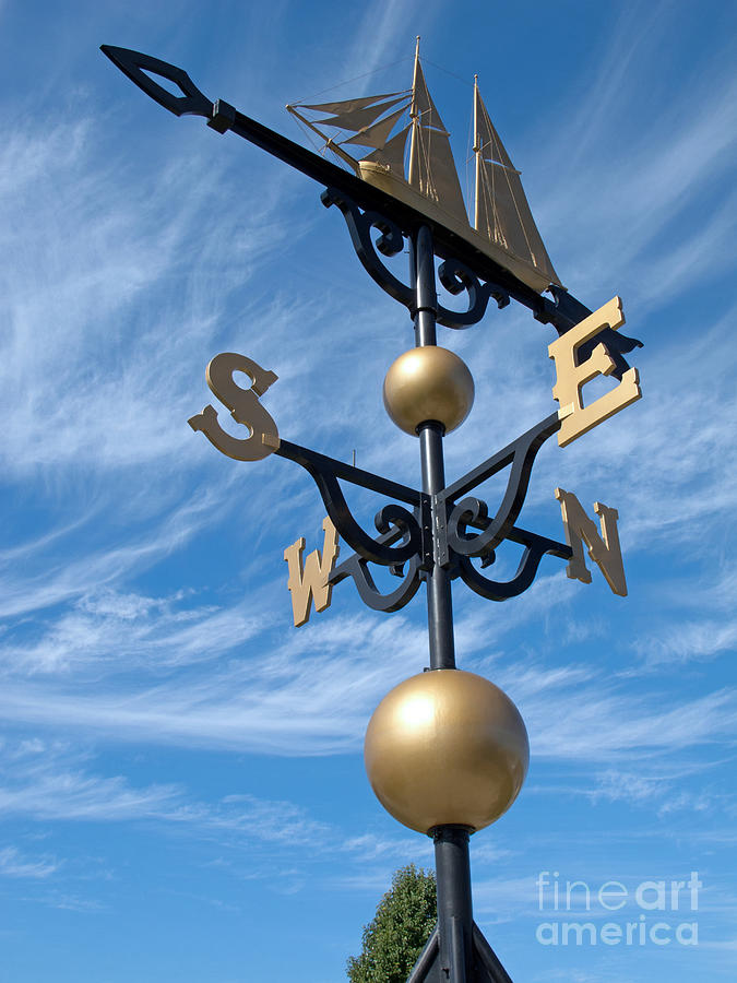 Ann Horn Photograph - Largest Weathervane by Ann Horn