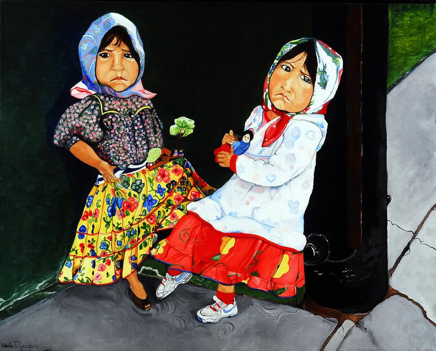 Las Comadres Painting