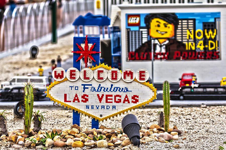 Welcome Photograph - Las Legos by Nicholas Evans
