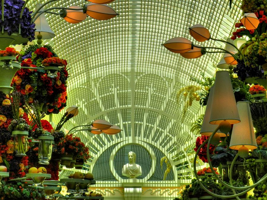The Wynn Hotel And Casino Photograph - Las Vegas 044 by Lance Vaughn