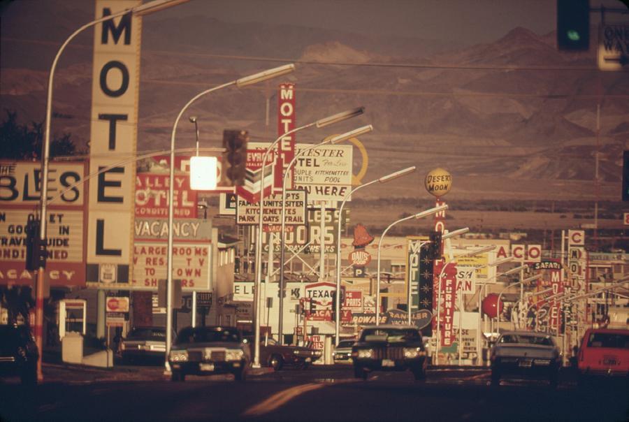 Las Vegas Commercial Street Photograph