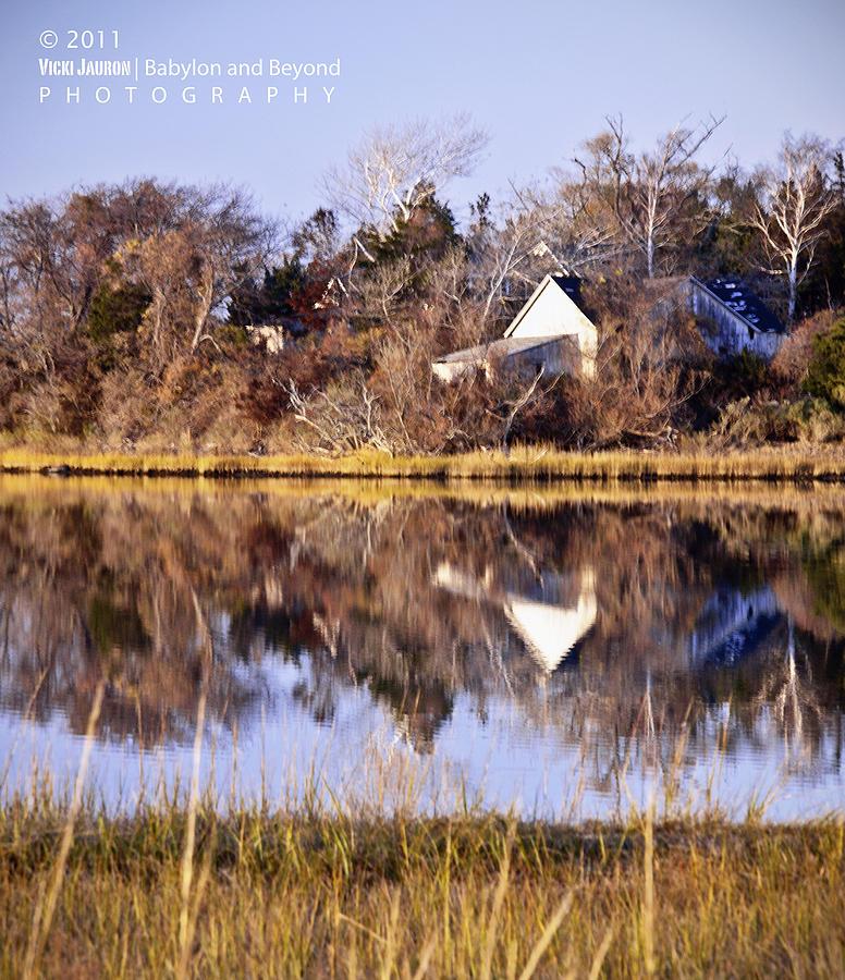 Late Fall Reflection Photograph