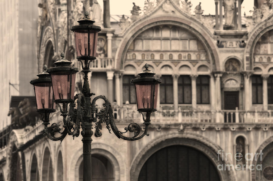 Latern In Venice Photograph