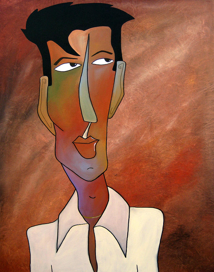 Latin Lover Painting  - Latin Lover Fine Art Print