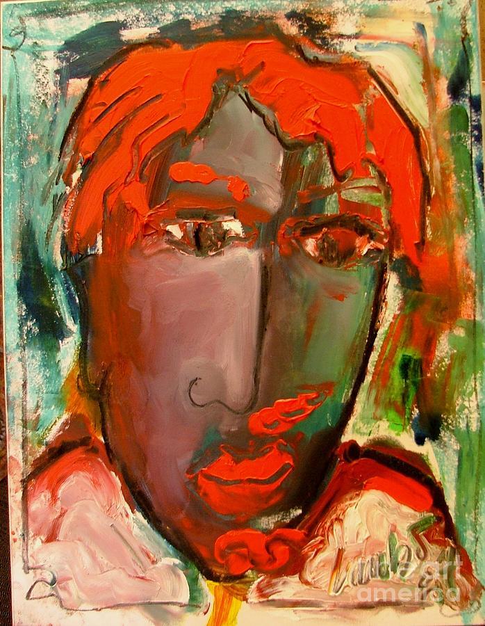 Laubar Face Adele Painting