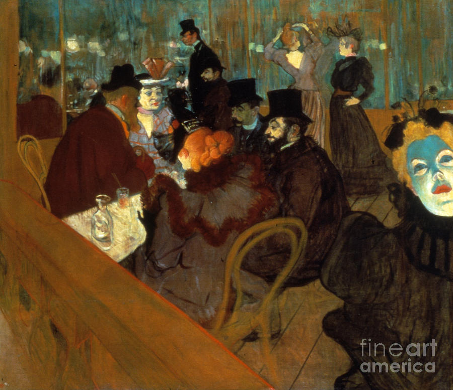 Lautrec: Moulin Rouge Photograph  - Lautrec: Moulin Rouge Fine Art Print