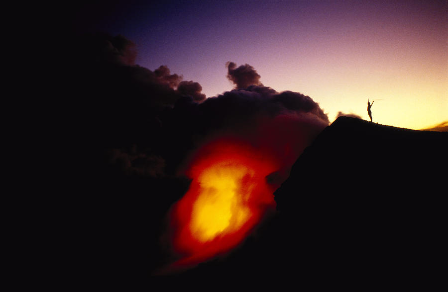 Lava At Dawn Photograph
