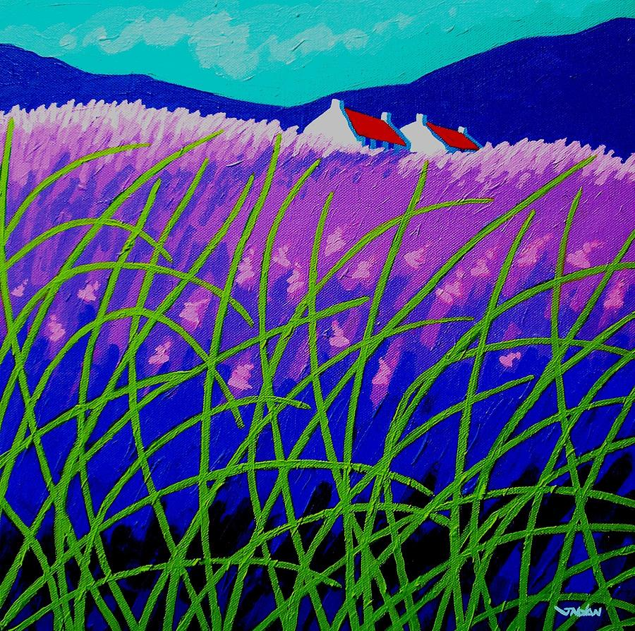 Lavender Hill Painting