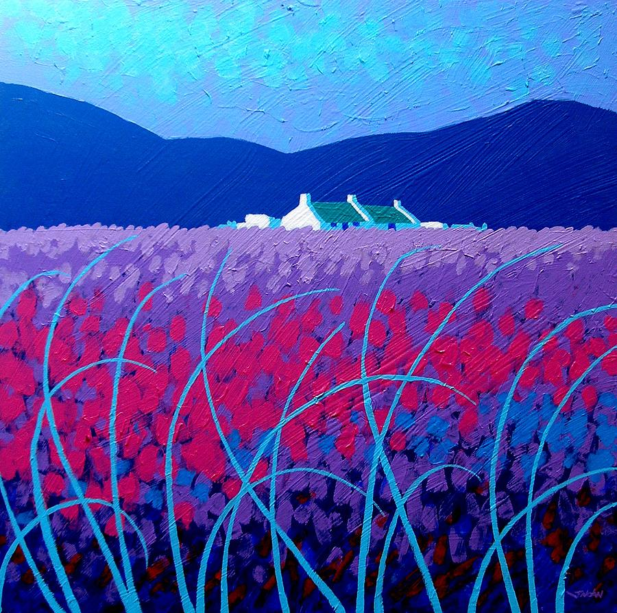 Lavender Scape Painting