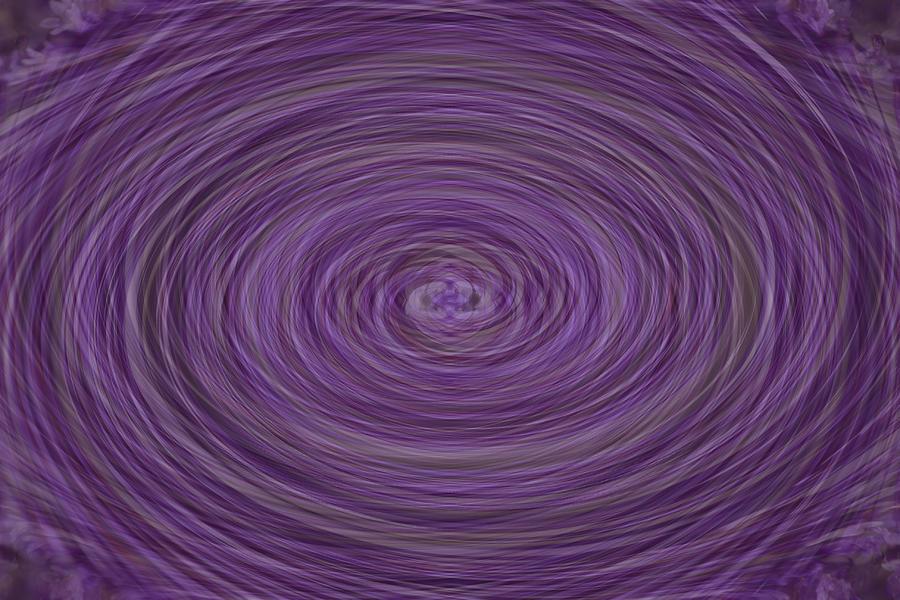 Lavender Vortex Photograph