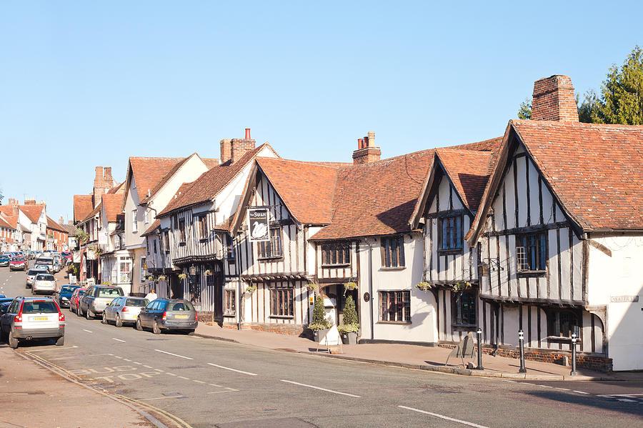 Lavenham High Street Photograph