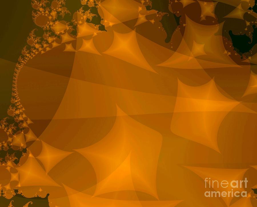 Layered Kite Formations Digital Art