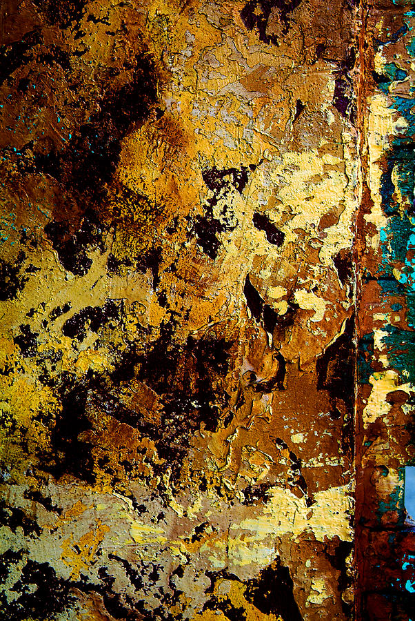 Layers Of Old Paint Photograph