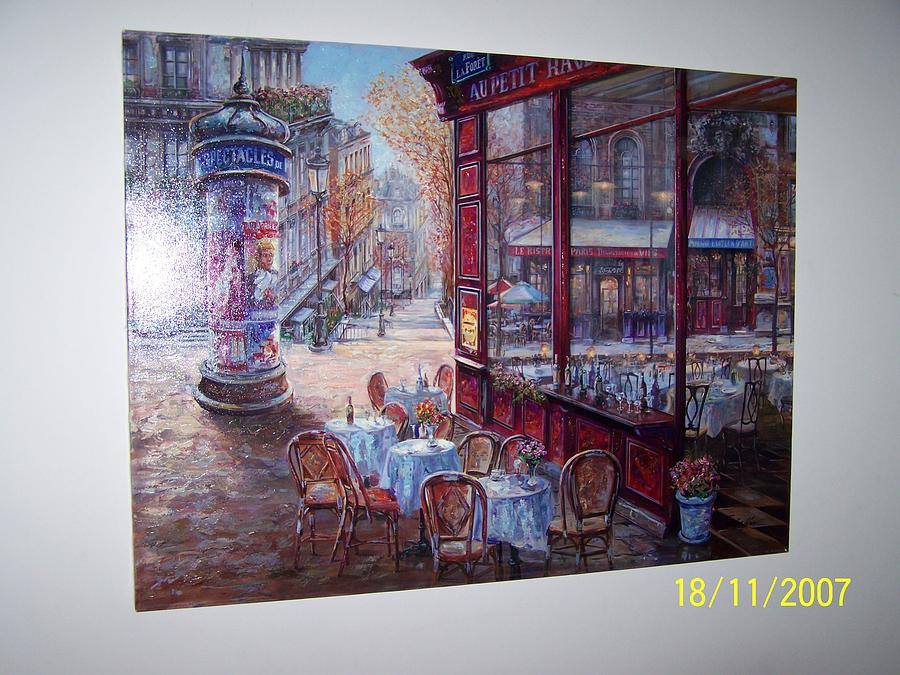 Le Bistro De Paris Mixed Media